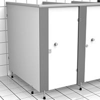 WC Kabin Elemanları